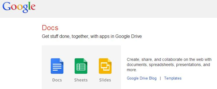 Google Docs for easy communication